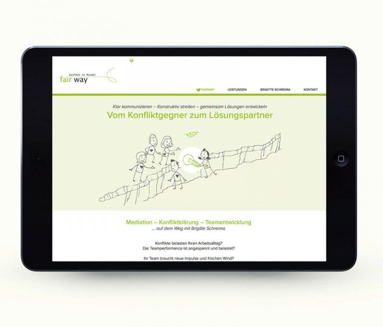 Internetseite von fairway