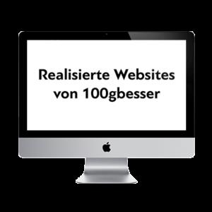 Realisierte Websites von 100gbesser