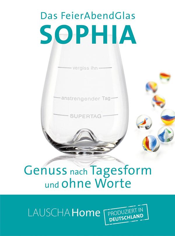 Flyer, Zertifikat Feierabend Glas