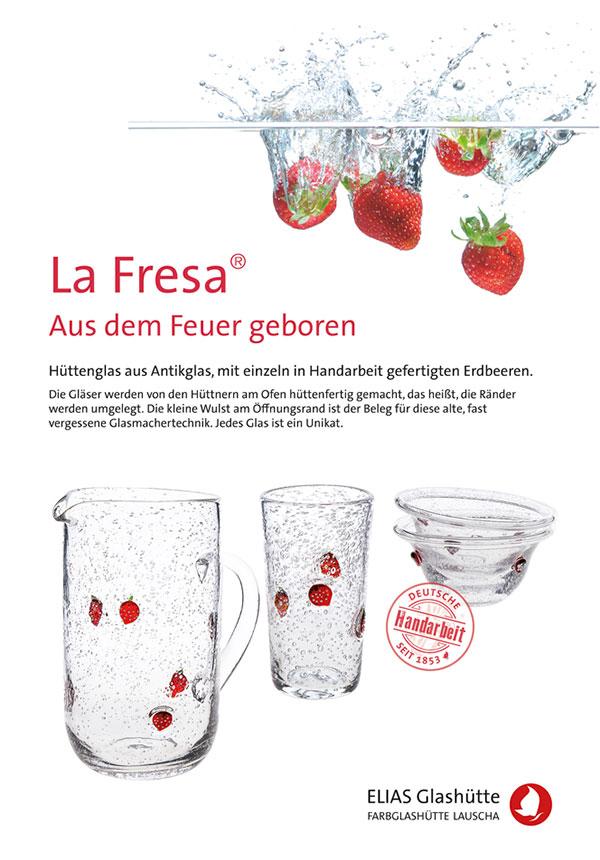 Flyer, Zertifikat Serie La Fresa