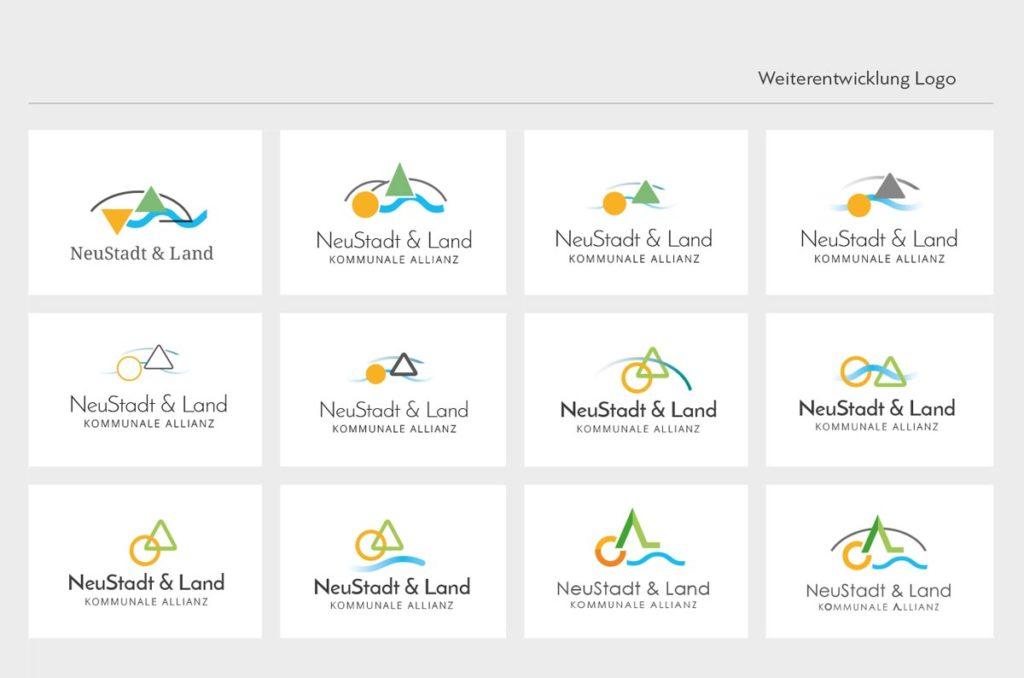 Weiterentwicklung Logo