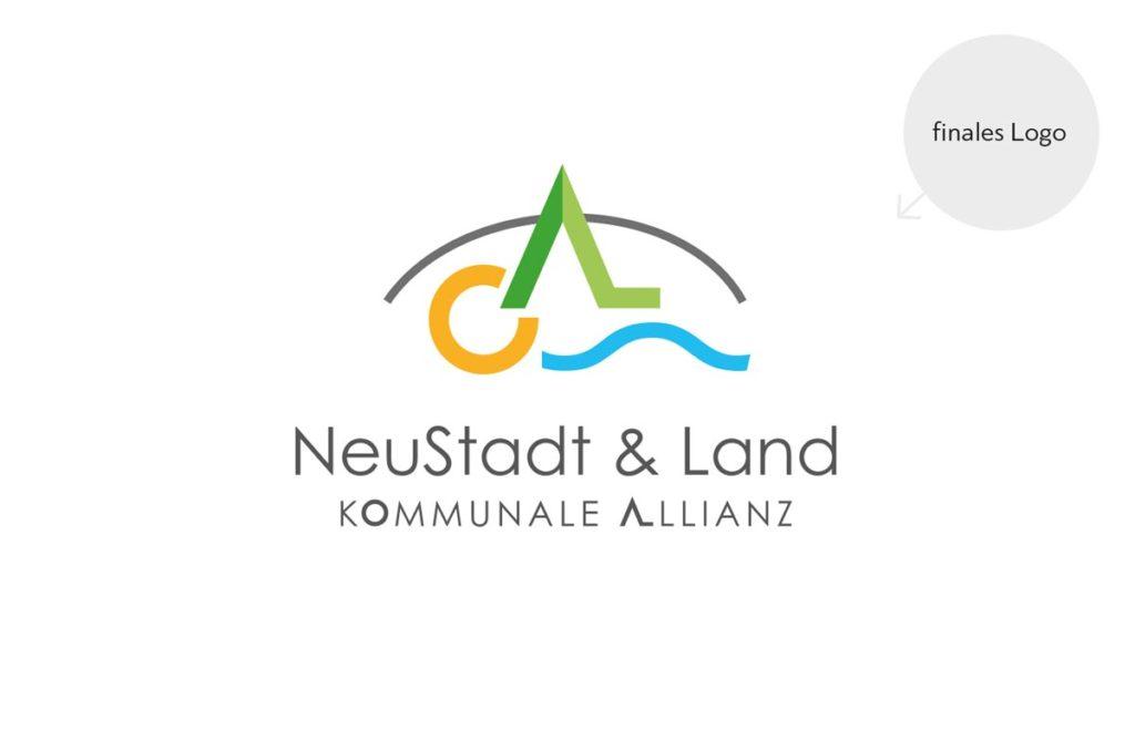 finales Logo NeuStadt & Land Kommunale Allianz
