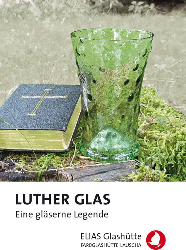 Flyer, Zertifikat Luther Glas
