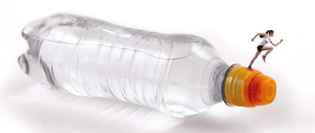 Wasserflasche mit SportsCap