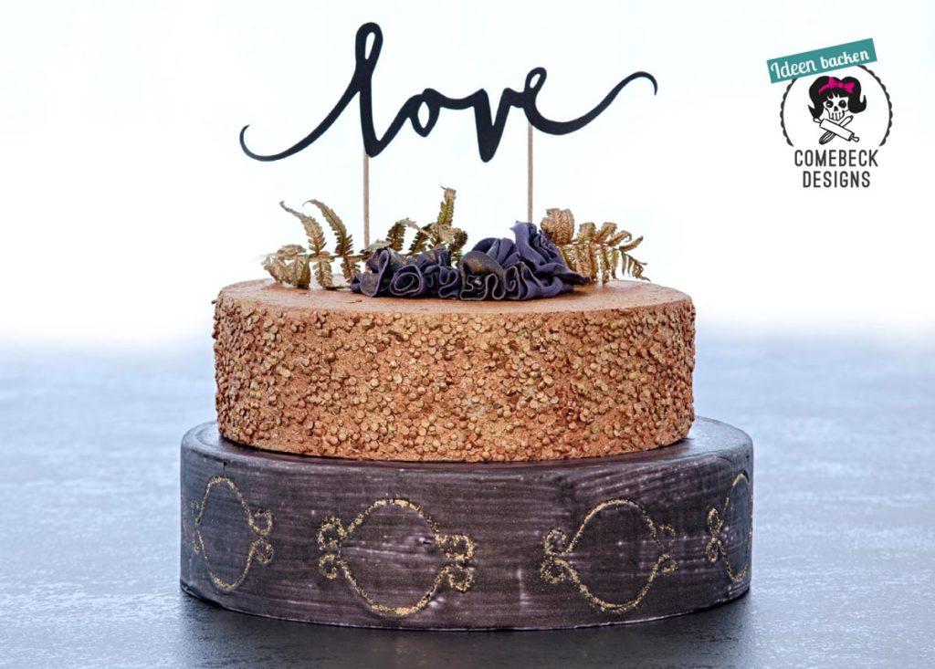 Torte love von ComebeckDesigns
