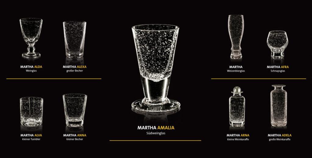 Flyer Glas Martha