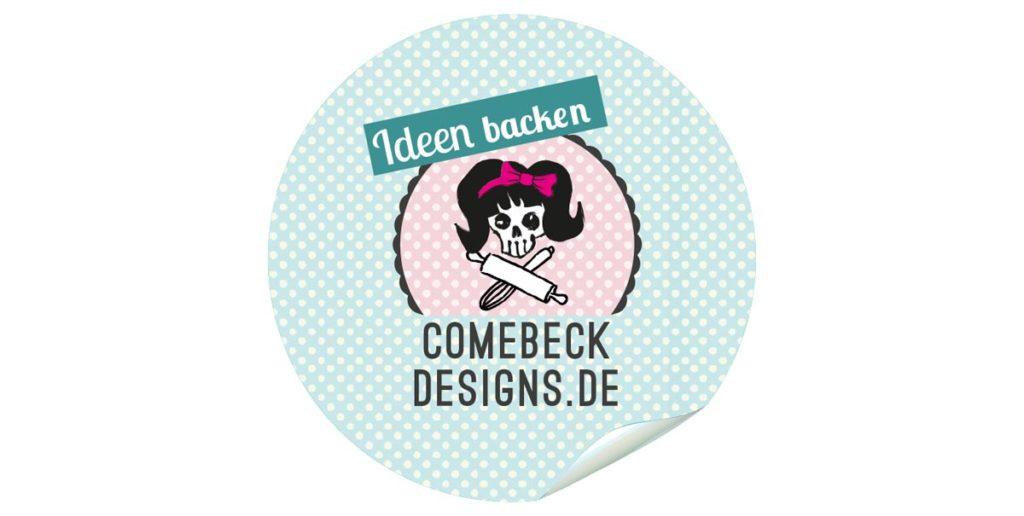 ComebeckDesigns Aufkleber, Sticker