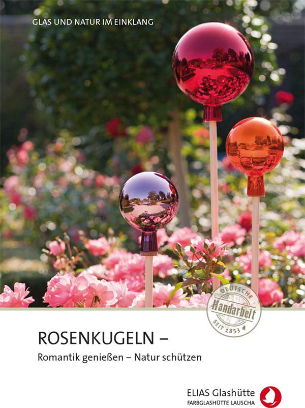 Flyer, Zertifikat Rosenkugeln