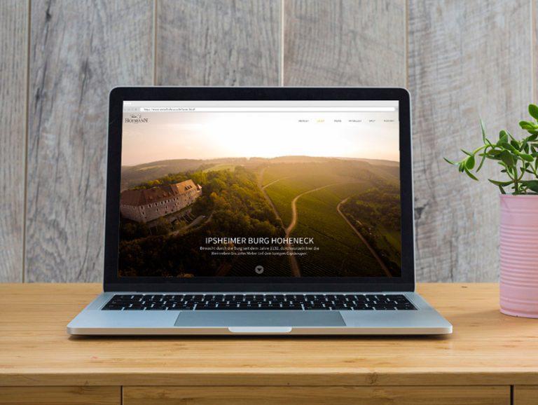 Internetauftritt mit Online-Shop
