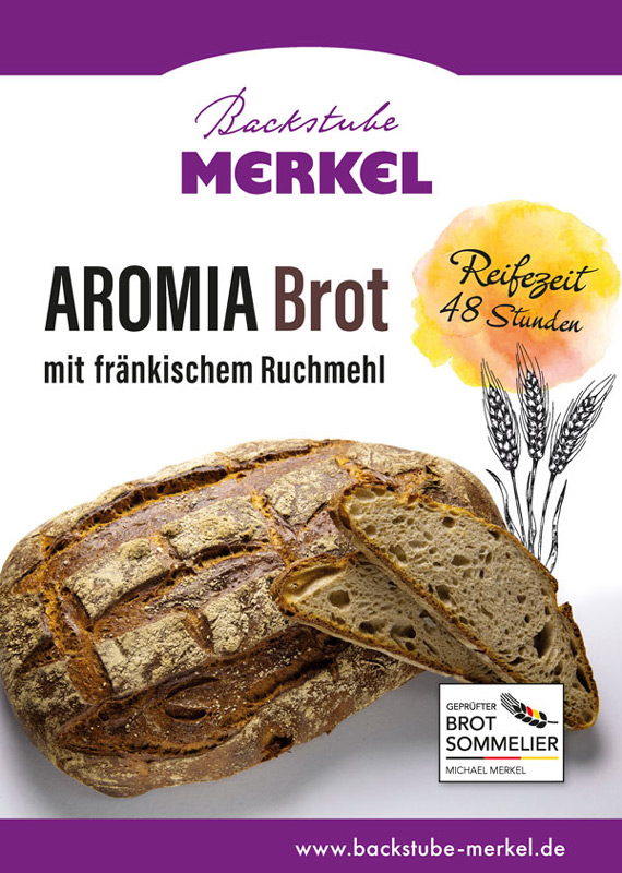 Aromia-Brot von Merkel