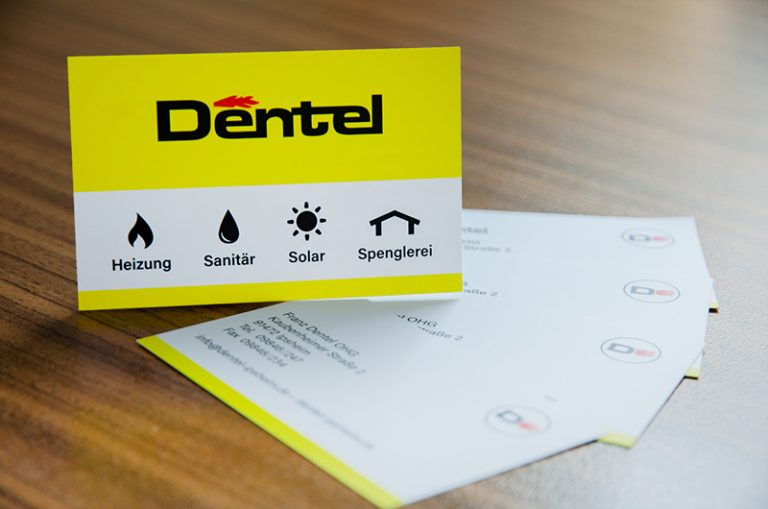 Visitenkarte für Dentel