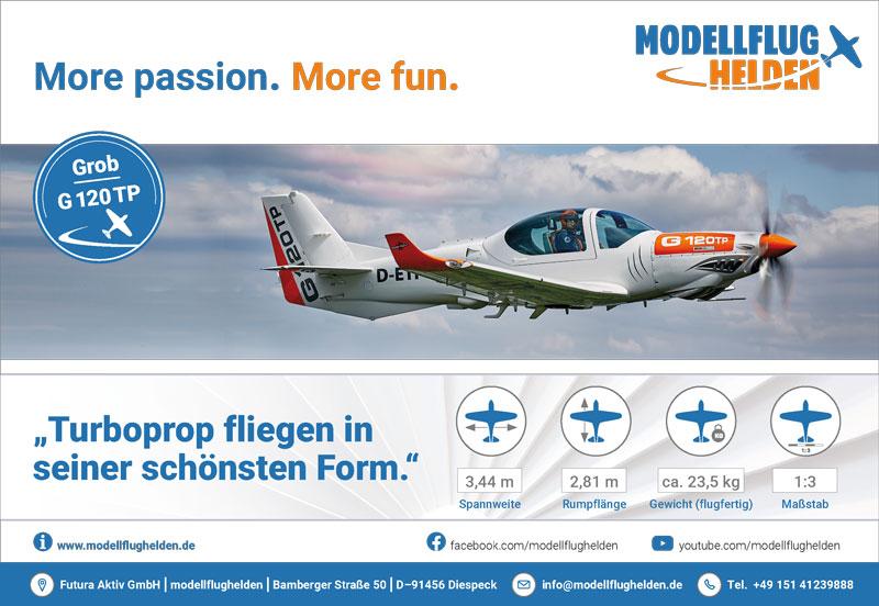 Anzeige für modellflughelden