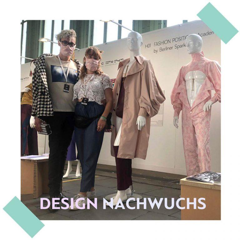 Design Nachwuchs auf der Fashion Positions 2020