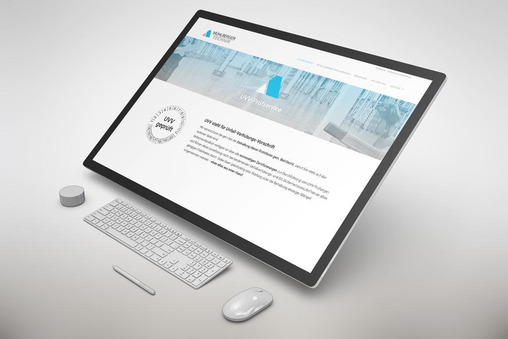 Read more about the article WordPress Internetseite für die Firma Mühlberger-Technik