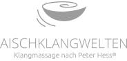 """Logo """"Aischklangwelten"""" in Graustufen"""