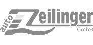 "Logo""AutoZeilinger"" in Graustufen"
