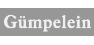 """Logo """"Gümpelein"""" in Graustufen"""