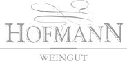 "Logo ""Weingut Hofmann"" in Graustufen"